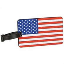 Travelon Luggage Ids Straps travelon flag tag