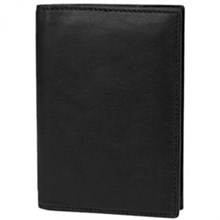 Travelon RFID Wallets travelon saf id classic leather passpor cas  black