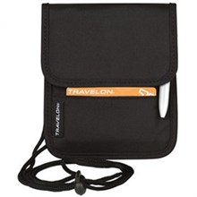 Travelon Travel Accessories travelon id and boarding pass holder black