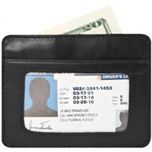 Travelon RFID Wallets travelon safe id cash and card sleeve