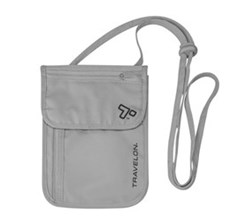 Travelon Travel Organizers travelon rfid blocking undergarment neck pouch