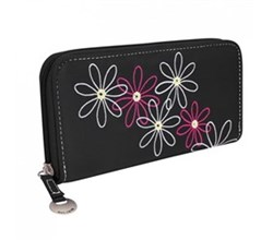 Travelon Womens RFID Blocking Wallets travelon safe id daisy ladies wallet