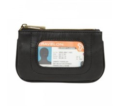 Travelon Travel Organizers travelon rfid blocking leather id pouch