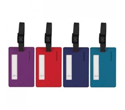 Travelon Luggage Ids Straps travelon set of 4 assorted color luggage tags bolds